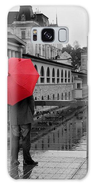 Rainy Days In Ljubljana Galaxy Case