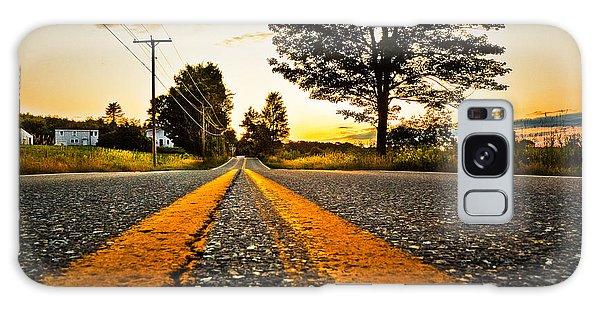 Ramblin Road Galaxy Case by Robert Clifford