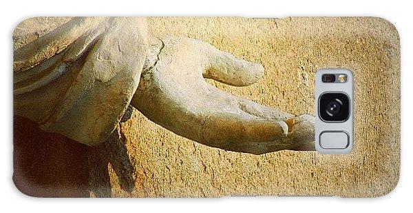Religious Galaxy Case - Reach Out Touch Faith #hand #faith by A Rey