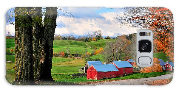 Reading Vermont - Jenne Road Galaxy Case