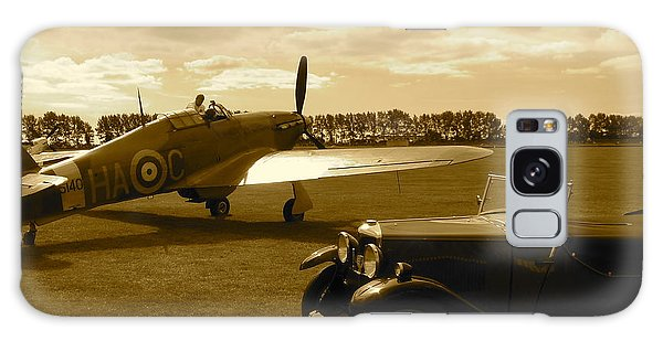 Ready To Scramble - Spitfire Galaxy Case by John Colley
