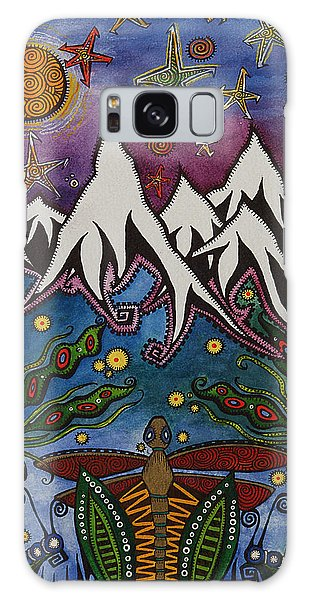 Realistic Imagination Galaxy Case by Tanielle Childers