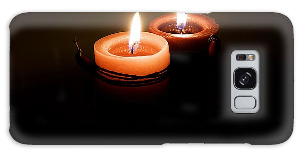 Red Candles Galaxy Case