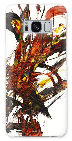 Red Flame II 65.121410 Galaxy Case by Kris Haas