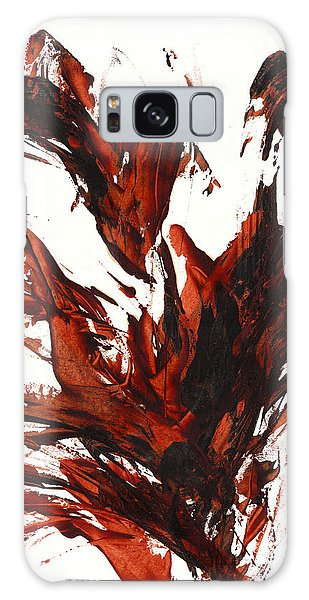 Red Flame IIi 64.121410 Galaxy Case by Kris Haas