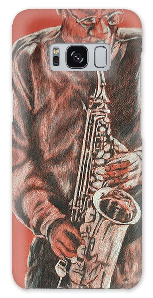 Red Hot Sax Galaxy Case
