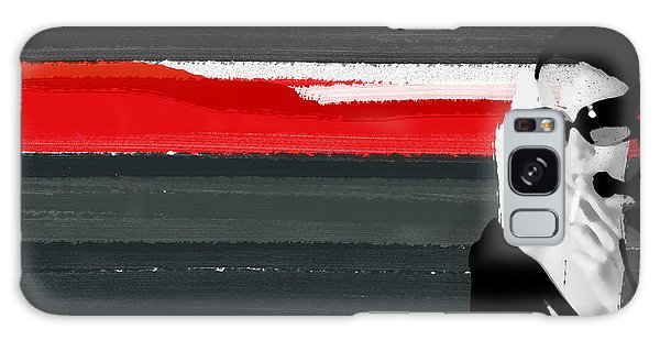 Powerful Galaxy Case - Red Line by Naxart Studio