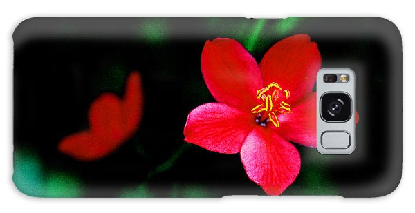 Red Petaled Dream Galaxy Case