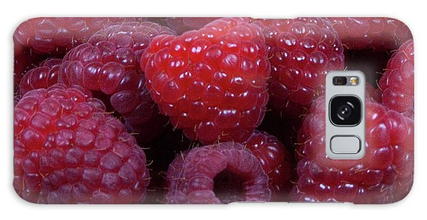 Red Raspberries Galaxy Case