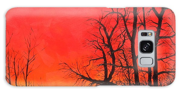Red Sky  Galaxy Case by Dan Whittemore