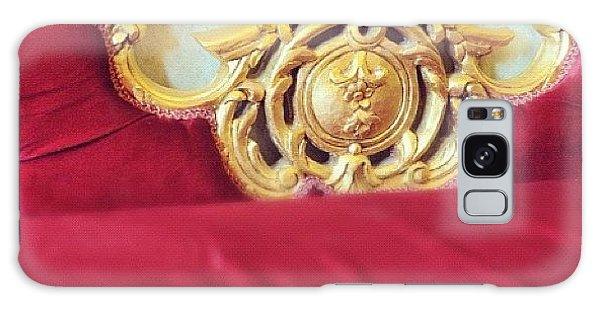 Red Sofa Galaxy Case