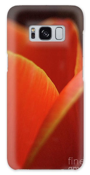 Red Tulip Galaxy Case by Jeannette Hunt