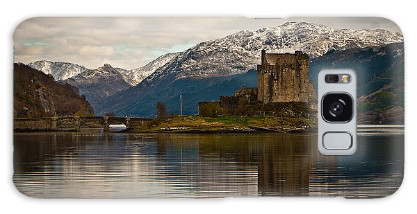 Reflection At Eilean Donan Galaxy Case