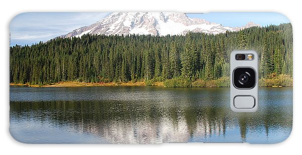 Reflection Lake - Mt. Rainier Galaxy Case