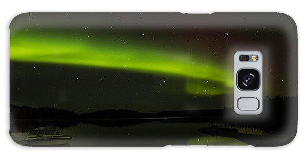 Reflection On A Lake Galaxy Case