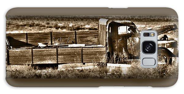 Retired Truck Galaxy Case