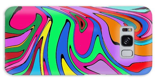 Retro Abstract Galaxy Case