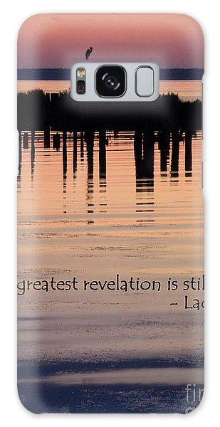 Revelation Galaxy Case by Lainie Wrightson