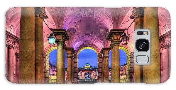 England Galaxy Case - Rhapsody In Pink by Evelina Kremsdorf
