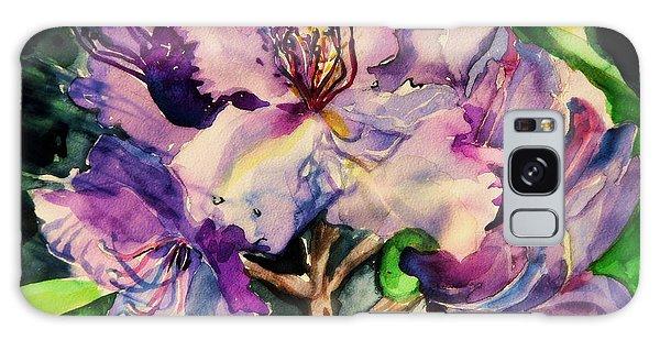 Rhododendron Violet Galaxy Case