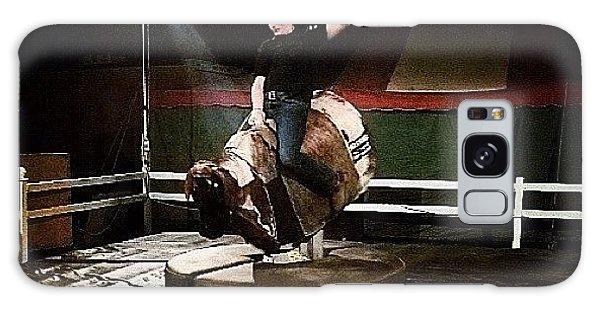 Ohio Galaxy Case - Ride The Bull by Natasha Marco