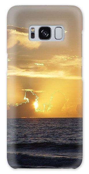 Rise Over Atlantic Galaxy Case by Elizabeth Sullivan