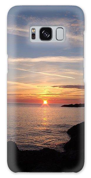 Galaxy Case - Rising Sun by Bonfire Photography