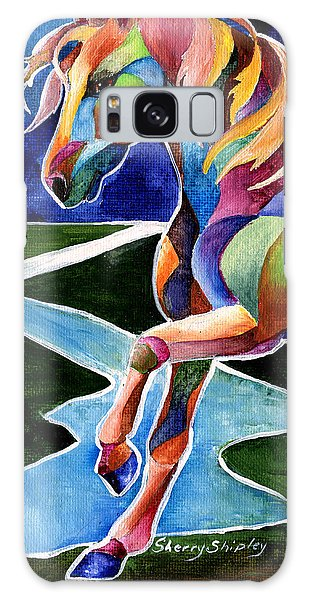 River Dance 2 Galaxy Case by Sherry Shipley