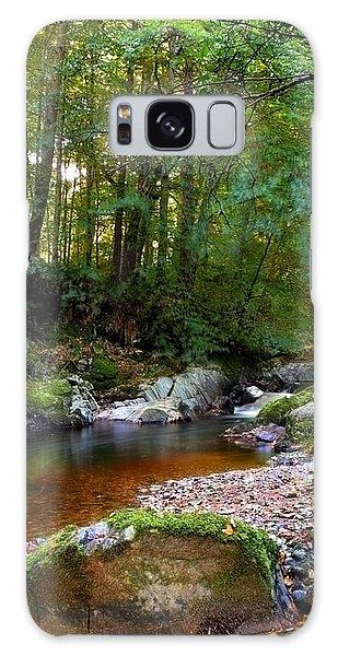 River In Cawdor Big Wood Galaxy Case