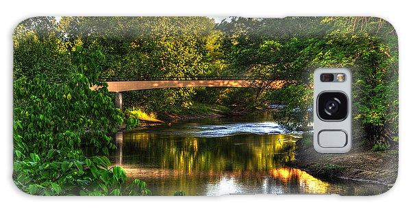 River Walk Bridge Galaxy Case