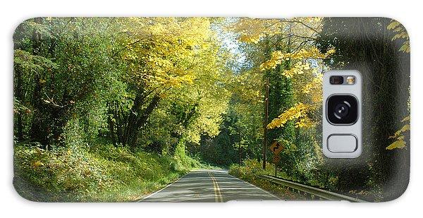 Road Through Autumn Galaxy Case
