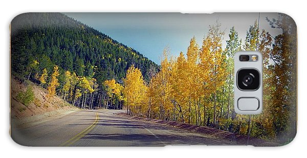 Road To Fall Galaxy Case by Michelle Frizzell-Thompson