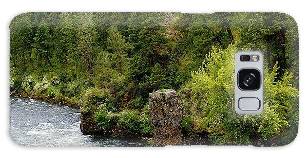 Rockin The Spokane River Galaxy Case