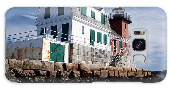 Rockland Breakwater Lighthouse Galaxy Case