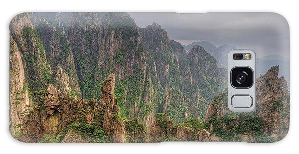 People's Republic Of China Galaxy Case - Rocky Landscape, Huangshan, China by Jerry Kobalenko