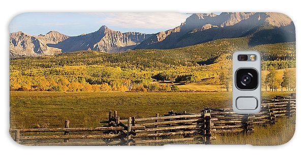 Rocky Mountain Ranch Galaxy Case by Steve Stuller