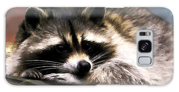 Rocky Raccoon Galaxy Case