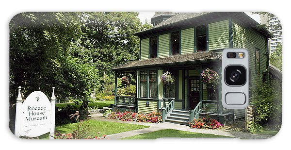 Roedde House Museum Vancouver Canada Galaxy Case by John  Mitchell