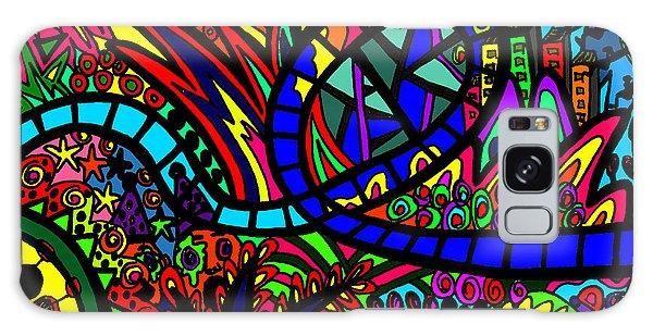 Galaxy Case - Roller Coaster by Karen Elzinga