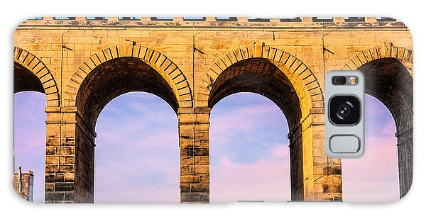 Roman Arches Galaxy Case by Semmick Photo