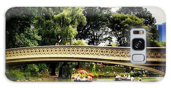 Romance - Central Park - New York City Galaxy Case