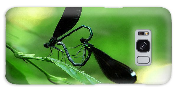 Romantic Damselflies Galaxy Case by Emanuel Tanjala