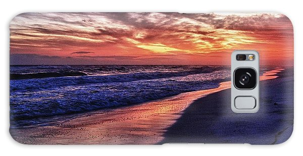 Romar Beach Sunset Galaxy Case