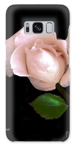 Rose Bud Galaxy Case