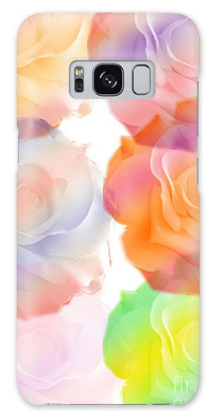 Rose Of A Different Color Galaxy Case