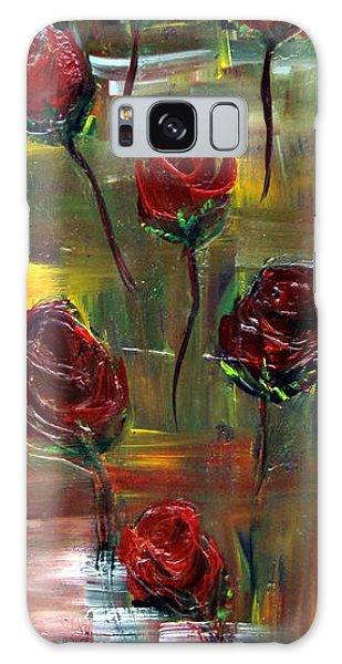 Roses Free Galaxy Case