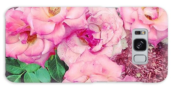 Florals Galaxy Case - #roses by Melissa Wyatt