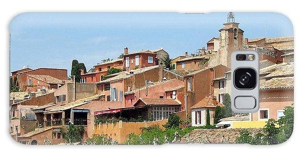 Roussillon In Provence Galaxy Case by Carla Parris