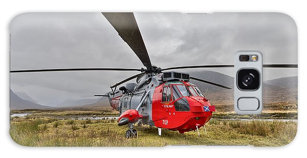 Royal Navy Sar Sea King Xz920 Glencoe Galaxy Case