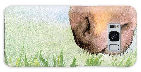 Rubbing Your Nose In It Galaxy Case by Annemeet Hasidi- van der Leij